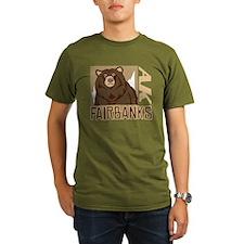 Fairbanks Grumpy Grizzly T-Shirt