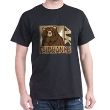 Fairbanks Grumpy Grizzly T-Shirt