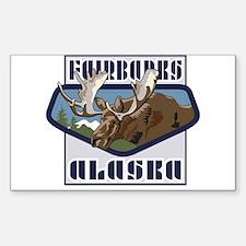 Fairbanks Mountaintop Moose Decal