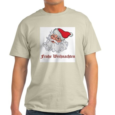 German Santa Ash Grey T-Shirt