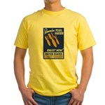 Remember Pearl Harbor Yellow T-Shirt
