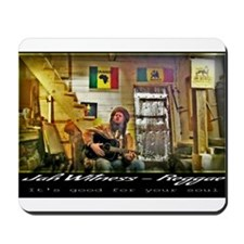Jah Witness Reggae Mousepad