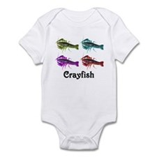 Colorful Crayfish Infant Bodysuit
