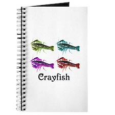 Colorful Crayfish Journal