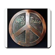 Peace Buckle Mousepad