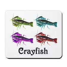 Colorful Crayfish Mousepad
