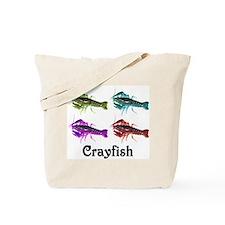 Colorful Crayfish Tote Bag