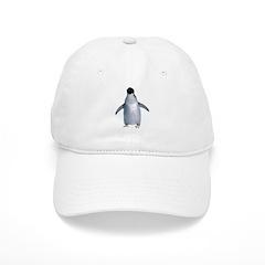 Lone Adelie Baseball Cap