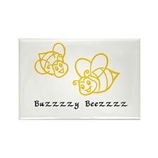 Buzy Beez Rectangle Magnet