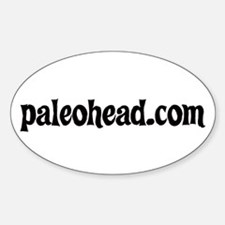 Paleohead.com Decal