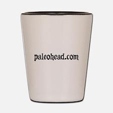 Paleohead.com Shot Glass