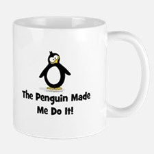 The Penguins Made Me Do it Mugs