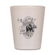 Fairbanks Vintage Moose Shot Glass