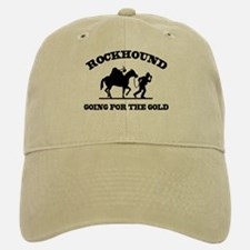 Rockhound Going For The Gold Baseball Baseball Cap