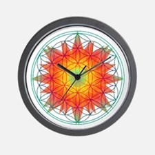 Internal Sun Wall Clock