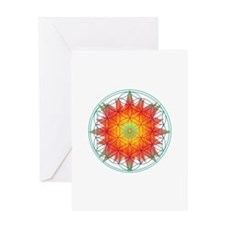 Internal Sun Greeting Card