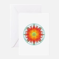 Internal Sun Greeting Card