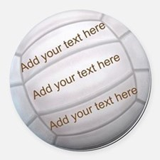 Beach Volleyball Car Magnets Personalized Beach Volleyball - Custom volleyball car magnets