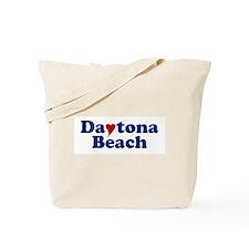 Daytona Beach with Heart Tote Bag