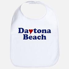 Daytona Beach with Heart Bib