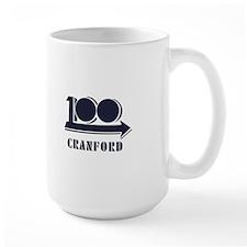 Cranford 100th Anniversary Logo Mug