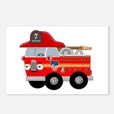 Coops Little Fire Engine Seven FDNY Postcards (Pac