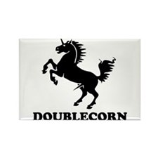 The Doublecorn Rectangle Magnet