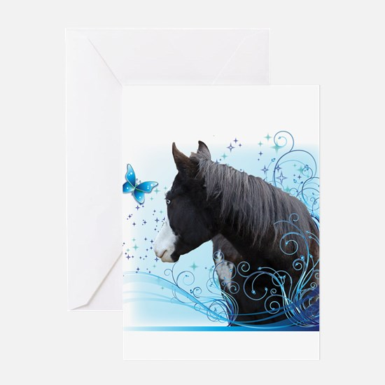 Steed Two Greeting Card