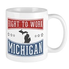 Right To Work Michigan Mug