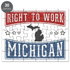 Right To Work Michigan Puzzle