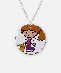 Cute Veterinarian baby Necklace
