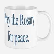 Rosary prayer for peace Small Small Mug