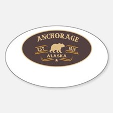 Anchorage Belt Buckle Badge Decal