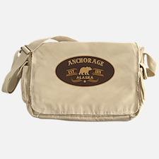 Anchorage Belt Buckle Badge Messenger Bag