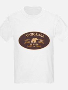 Anchorage Belt Buckle Badge T-Shirt