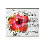 Aloha Fragrances Throw Blanket