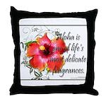 Aloha Fragrances Throw Pillow