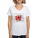 Aloha Fragrances Women's V-Neck T-Shirt