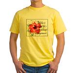 Aloha Fragrances Yellow T-Shirt