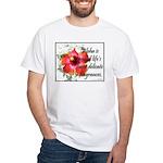 Aloha Fragrances White T-Shirt