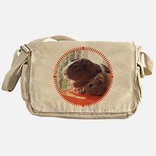 2 Guinea Pigs Messenger Bag