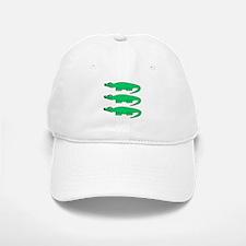 Crocodiles. Baseball Baseball Cap
