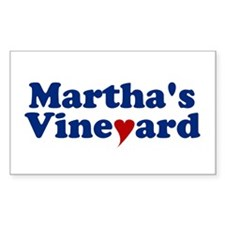 Martha's Vineyard with Heart Decal