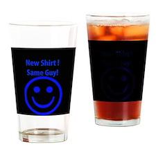 New Shirt Drinking Glass