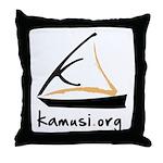 kamusi.org Throw Pillow