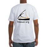 kamusi.org Fitted T-Shirt