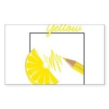 Yellow Decal