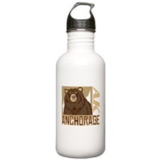 Anchorage Grumpy Grizzly Water Bottle