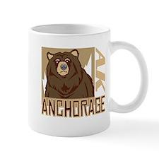 Anchorage Grumpy Grizzly Mug