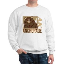 Anchorage Grumpy Grizzly Sweater
